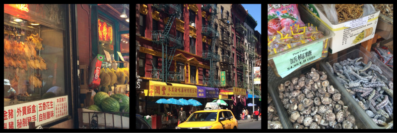 Chinatown Manhattan New York City