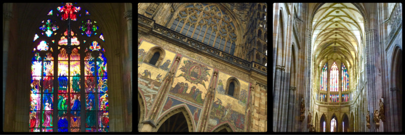 St Vitus Cathedral. Prague Castle. Czech Republic.