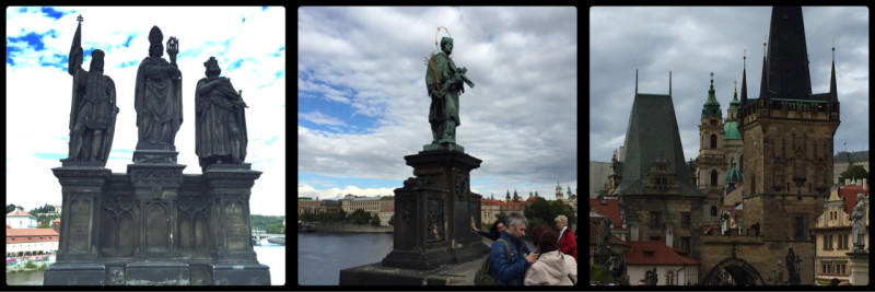 Charles Bridge. Prague. Czech Republic.