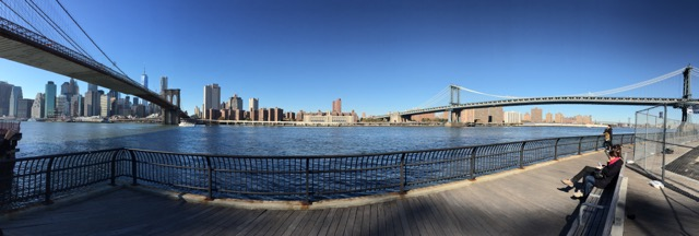 Brooklyn Bridge Park. New York